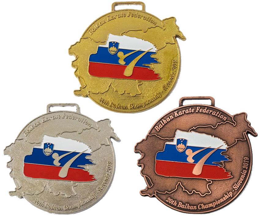 Medalje izdelane po naročilu