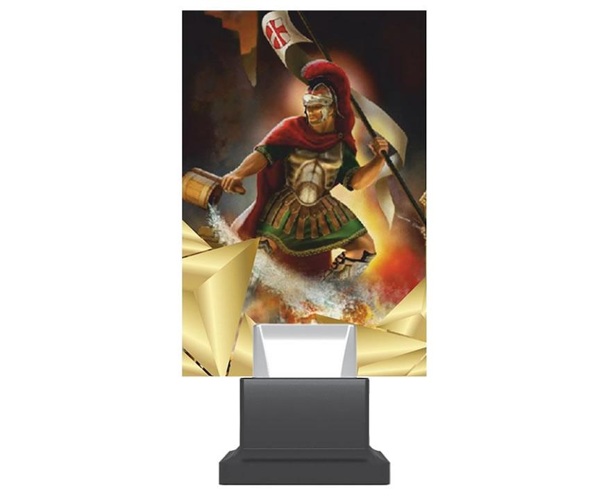 Gasilska plaketa Sveti Florjan
