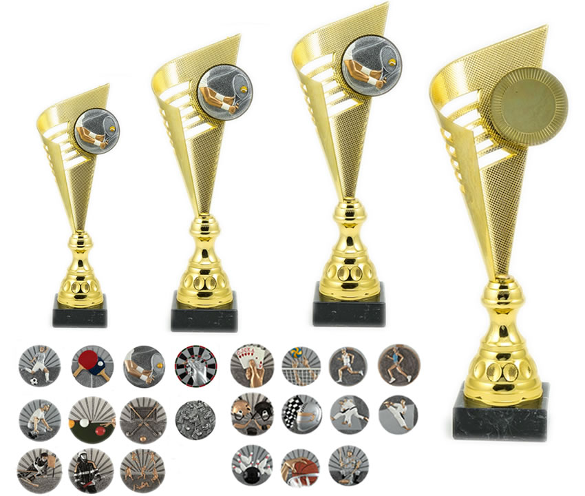 Pokali SP35 Zlati